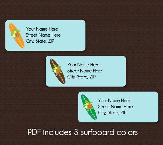 Avery Labels 48860 Fresh Address Labels Editable Pdf Instant Download by Plumeriaprints