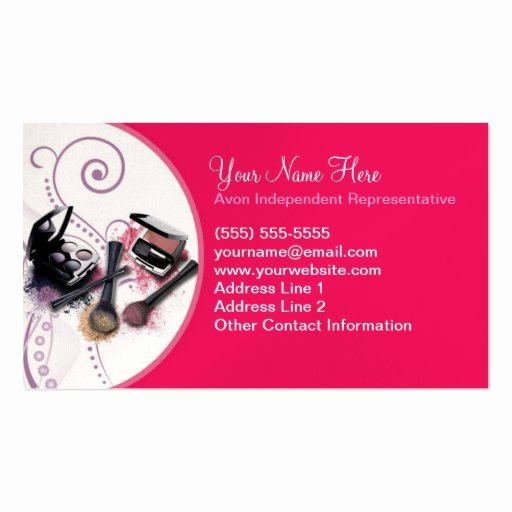 Avon Gift Certificate Template Awesome Avon Business Card Template