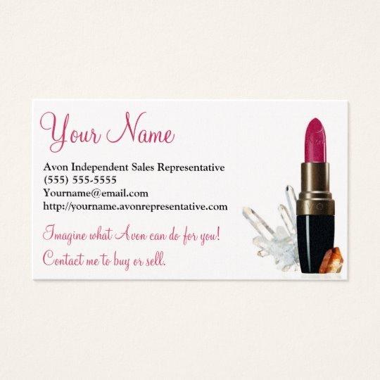 Avon Gift Certificate Template Beautiful Avon Business Card