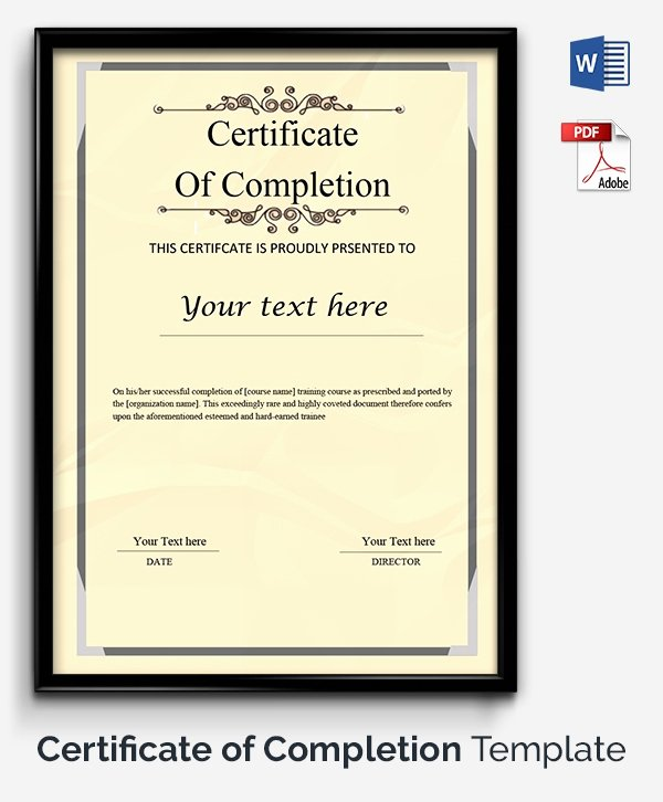Award Certificate Template Google Docs Awesome Certificate Template 50 Free Printable Word Excel Pdf