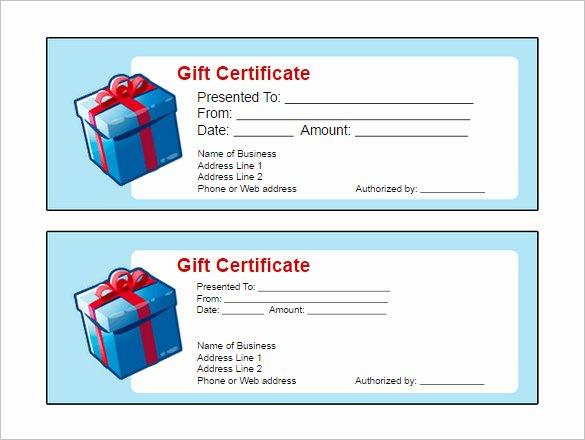 Award Certificate Template Google Docs Fresh Gift Certificate Template Google Docs