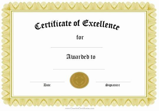 Award Certificate Template Google Docs Luxury Certificate Template Google Docs – Planner Template Free