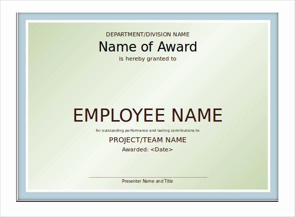 Award Certificate Template Powerpoint Awesome 8 Powerpoint Certificate Templates to Download
