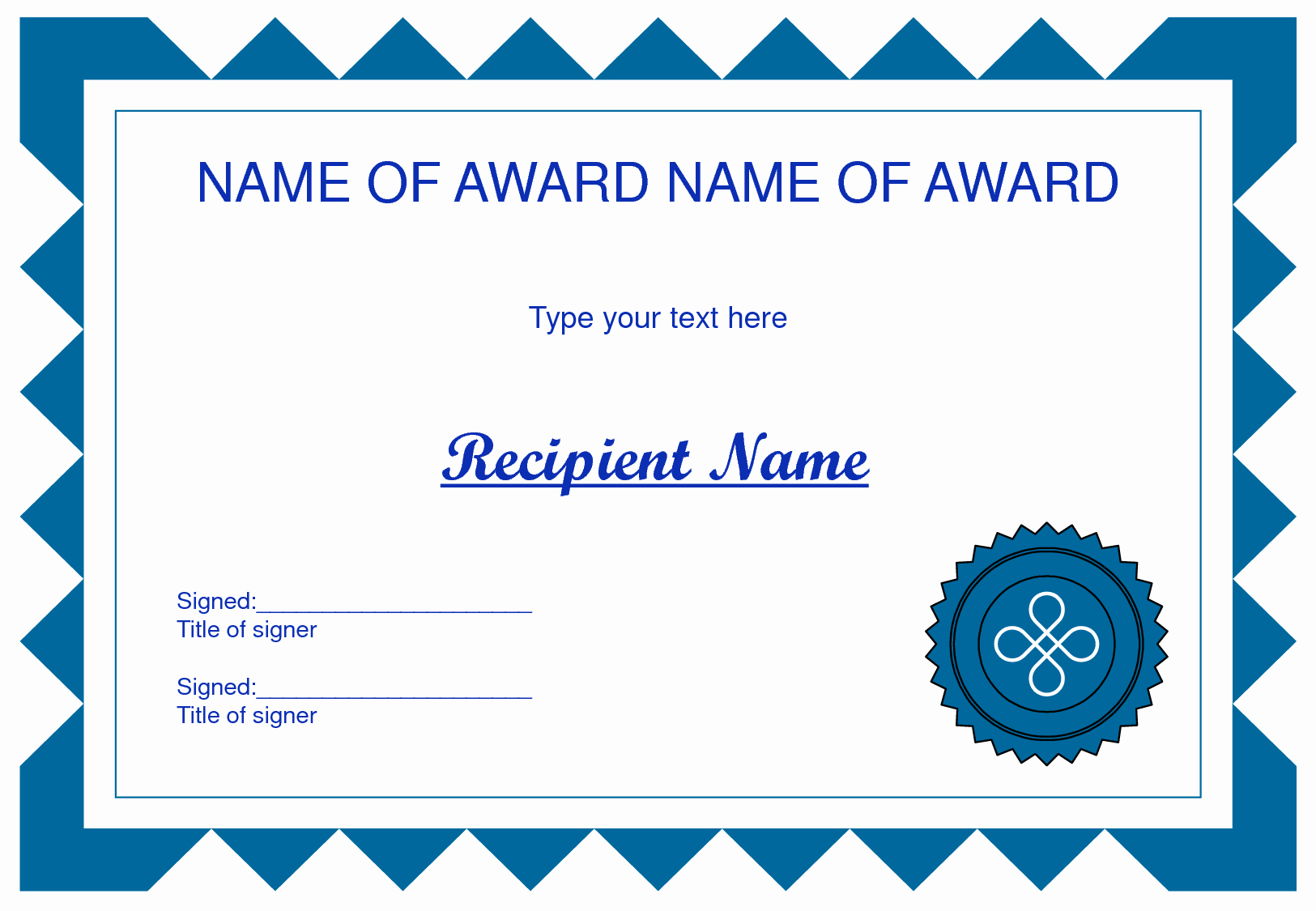 Award Certificate Template Powerpoint Beautiful Free Award Certificate Boarder Clipart Png and Cliparts