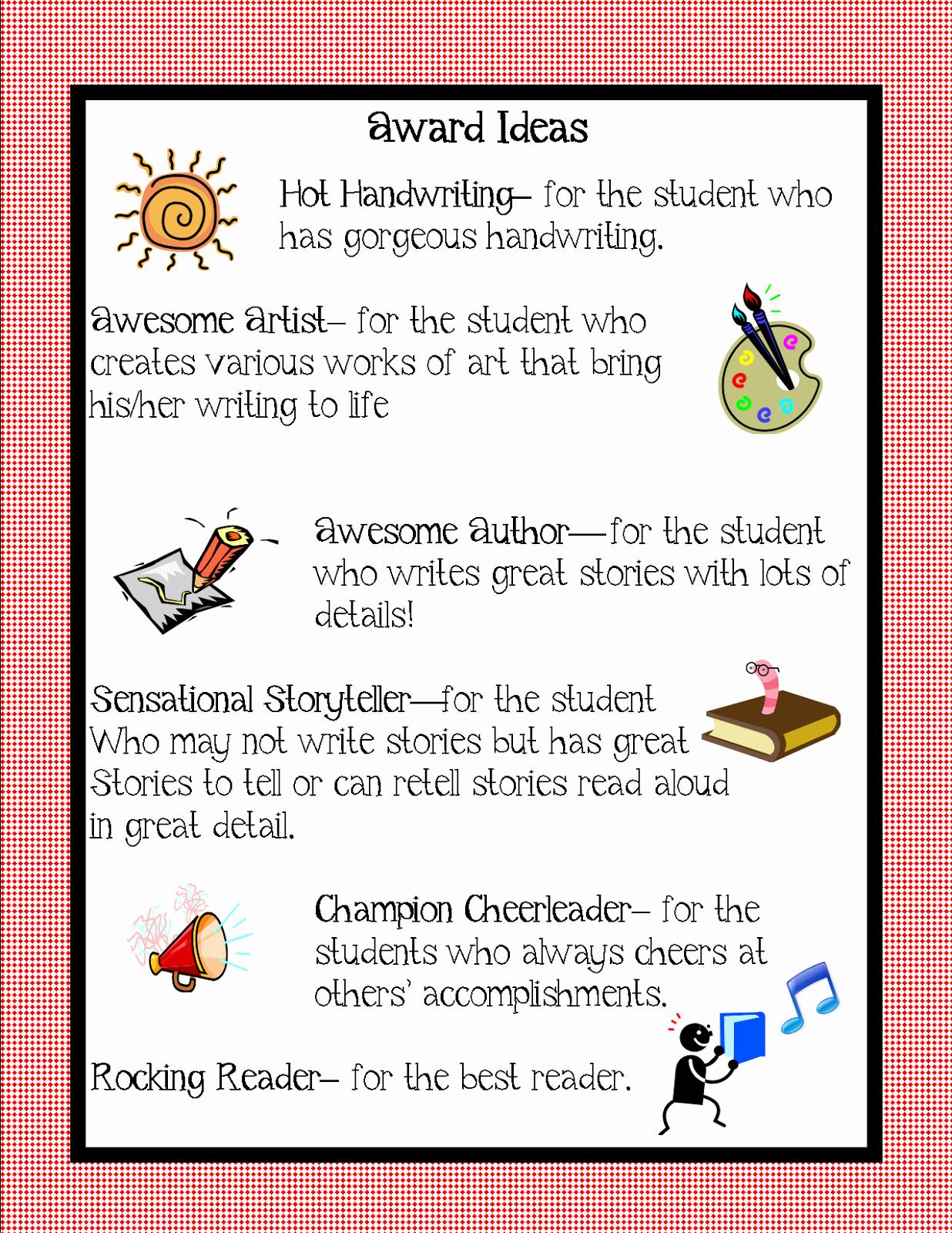 Award Ideas for Preschool Graduation Inspirational Kindergarten Squared Awards Ideas for Your Kiddos