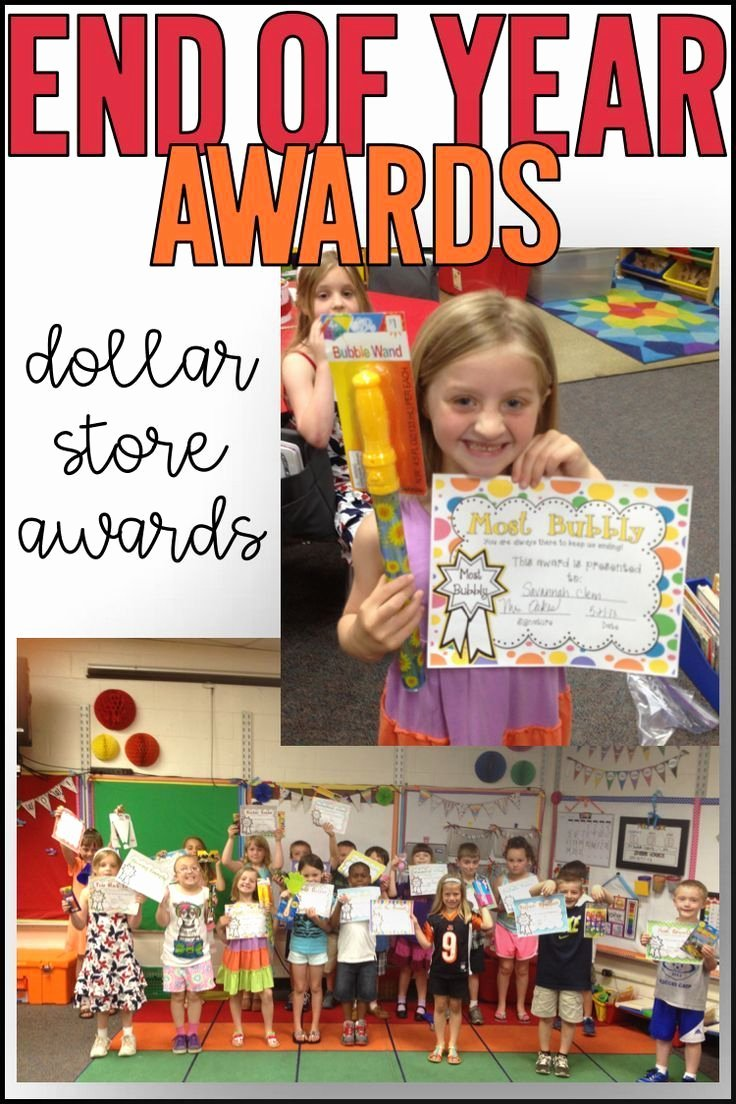 Award Ideas for Preschool Graduation New End Of Year Awards End Of the Year