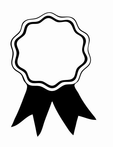 Award Ribbon Template Printable Elegant Award Ribbon Printable Coloring Pages Awana