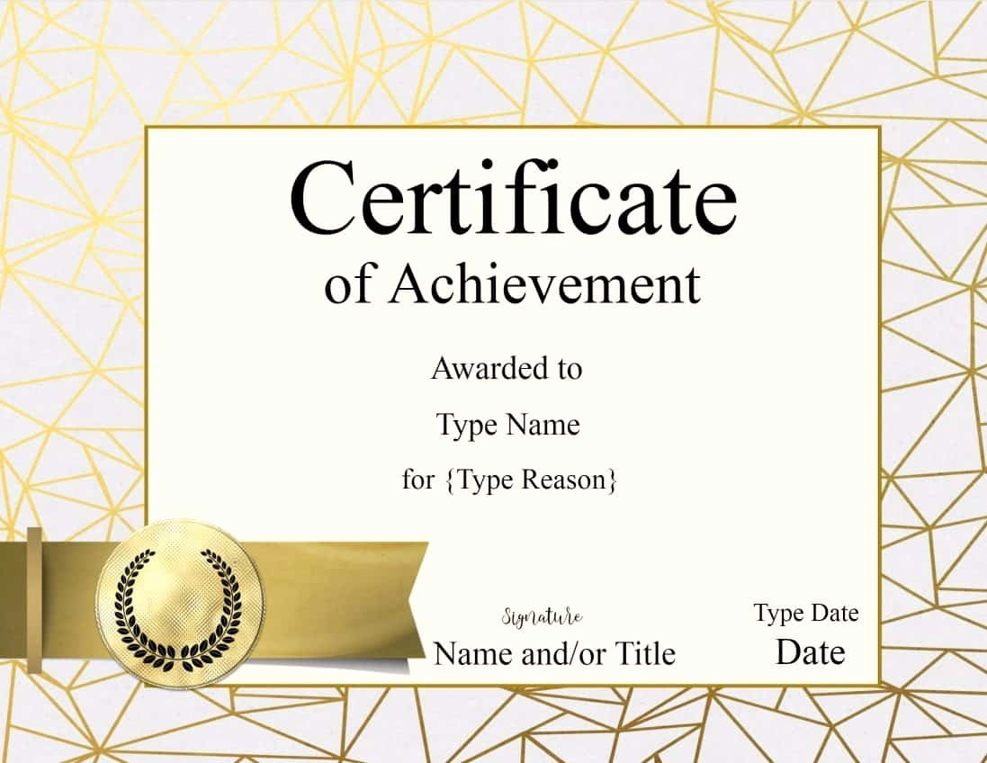 Award Ribbon Template Printable Fresh Certificate Templates