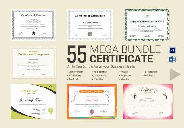 Awards Certificate Template Google Docs Awesome Certificate Template 50 Printable Word Excel Pdf Psd
