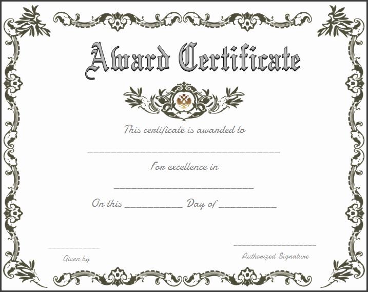 Awards Certificate Template Google Docs Elegant 10 Certificate Appreciation Template Easy to Edit
