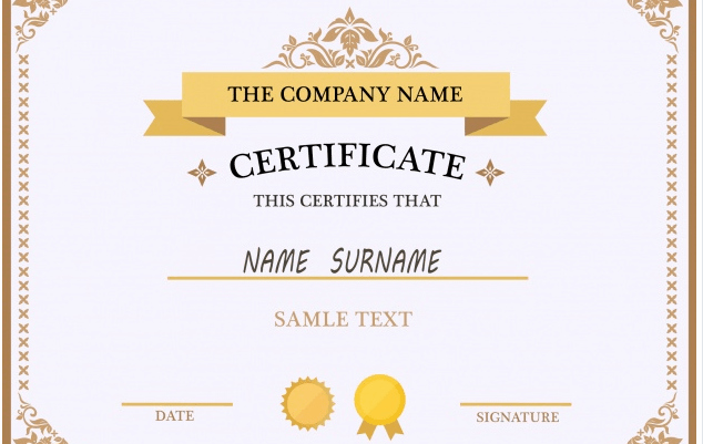 Awards Certificate Template Google Docs Elegant 50 Multipurpose Certificate Templates and Award Designs