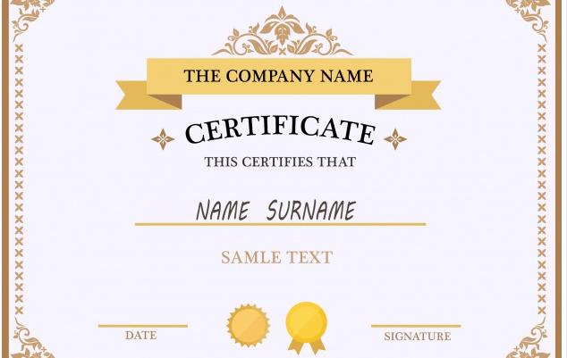 Awards Certificate Template Google Docs Elegant 50 Multipurpose Certificate Templates and Award Designs