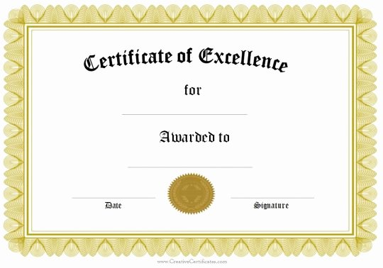 Awards Certificate Template Google Docs Luxury Certificate Template Google Docs – Planner Template Free