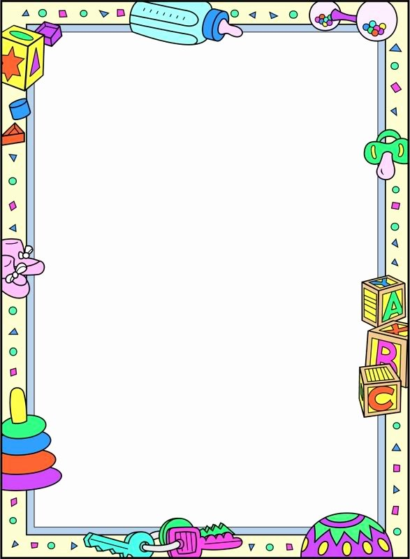 Baby Border for Word Document New Free Baby Clipart Borders and Frames 20 Free Cliparts