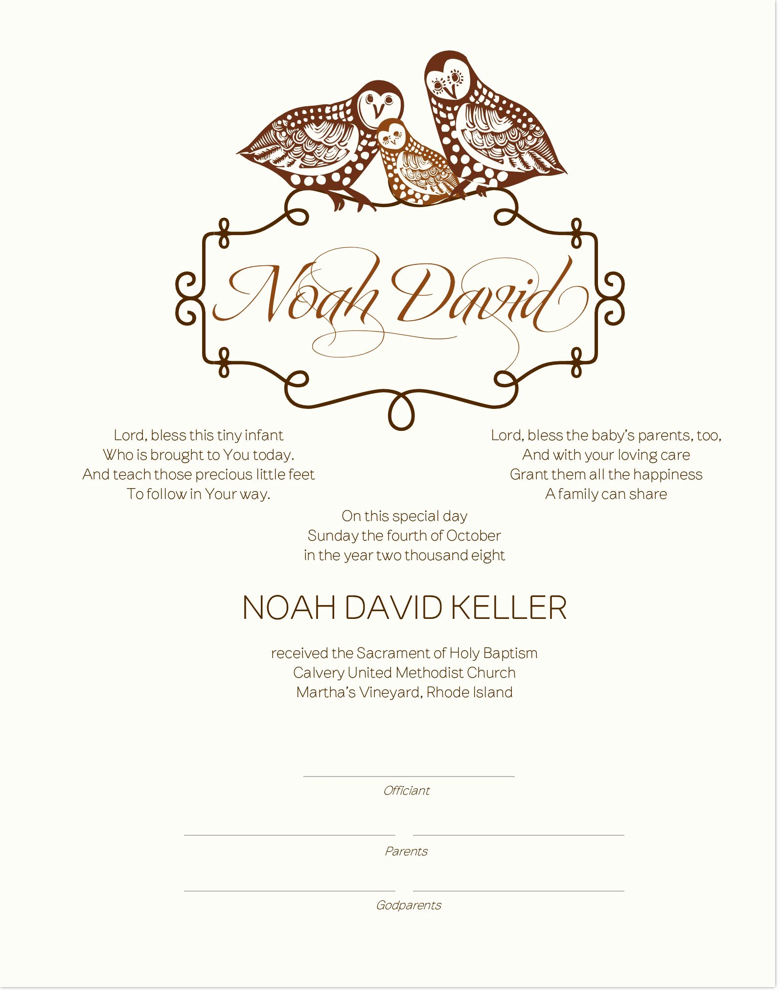 Baby Christening Certificate Template Lovely Baptism Certificate