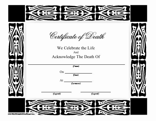 Baby Death Certificate Template Unique 151 Best Images About Printables On Pinterest