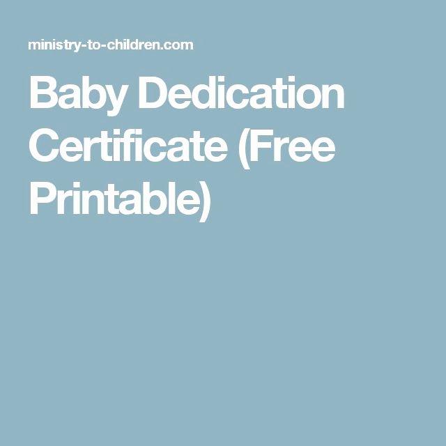 Baby Dedication Certificate Borders New Baby Dedication Certificate Free Printable