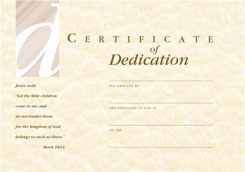 Baby Dedication Certificate Template Lovely C1208ct Dedication Certificate & Envelope Babies
