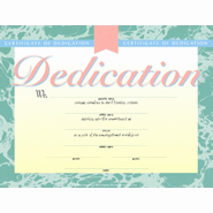 Baby Dedication Certificate Templates Free Inspirational Baby Dedication Certificate