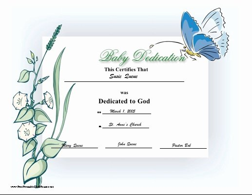 Baby Dedication Certificate Wording Awesome 51 Best Images About Baby Dedication On Pinterest