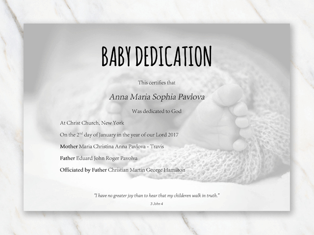 Baby Dedication Certificate Wording Luxury Lovely Child Dedication Invitations Wv81