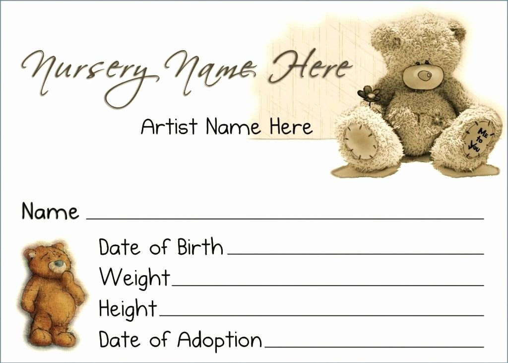 Baby Doll Birth Certificate Template Best Of Doll Birth Certificate Template – Ahegao