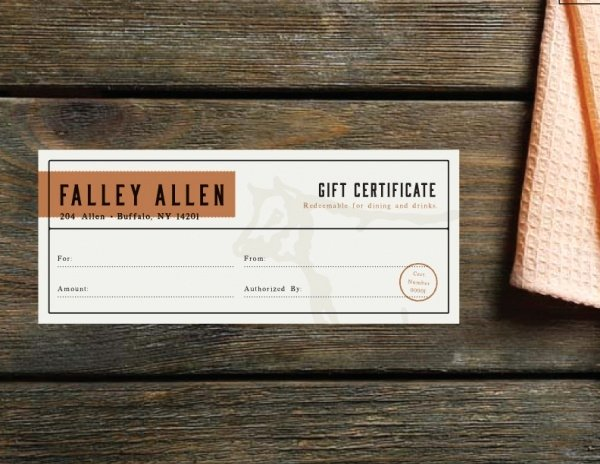 Bakery Gift Certificate Template Beautiful 21 Free Gift Certificates Psd Ai Word Vector Eps