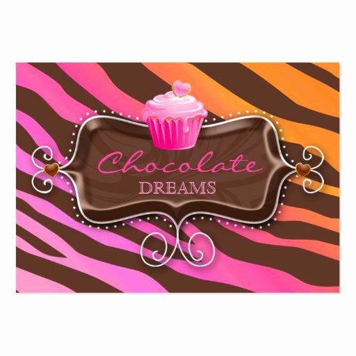 Bakery Gift Certificate Template Luxury Bakery Gift Certificate Chocolate Cupcake Pink org