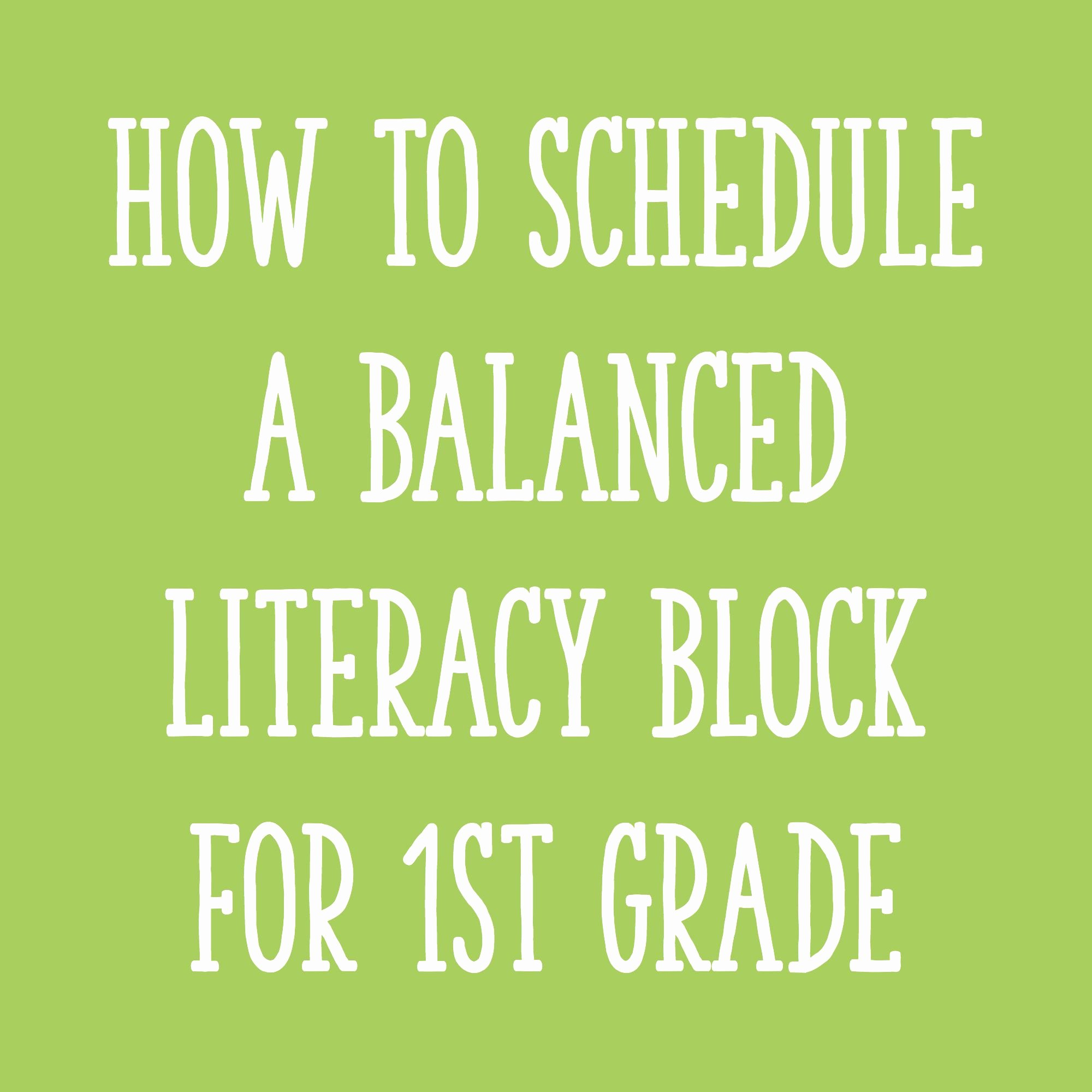 Balanced Literacy Lesson Plan Template Elegant Fitting It All In How to Schedule A Balanced Literacy