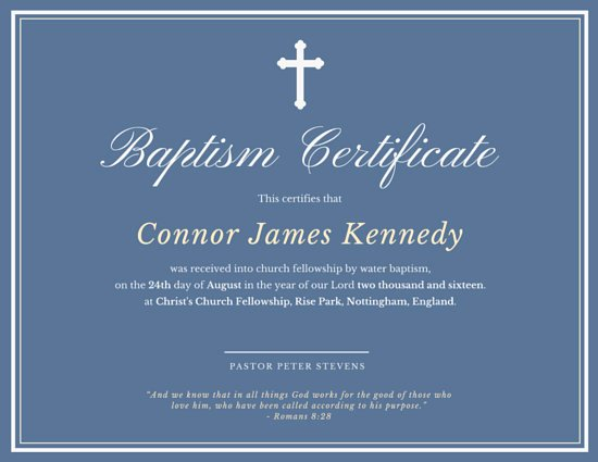 Baptism Certificate Template Free Inspirational Elegant Baptismal Certificate Templates by Canva