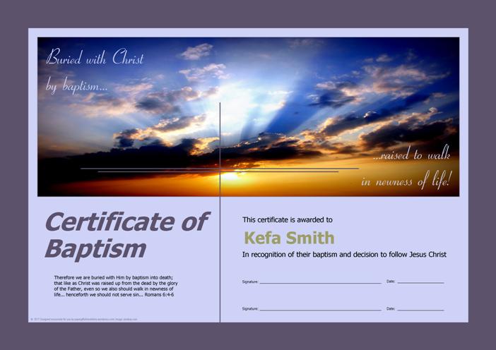 Baptism Certificates Free Download Best Of Free Baptism Certificates