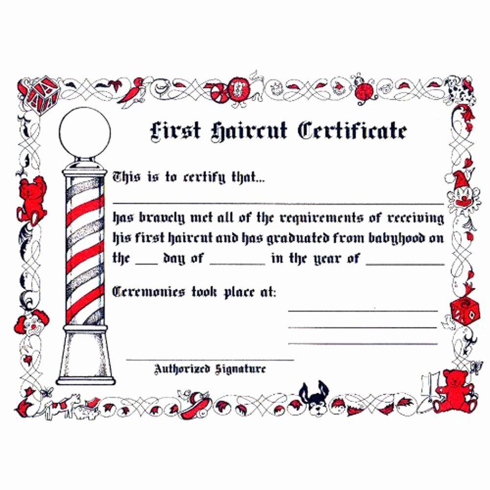 Barber Shop Gift Certificate Template Inspirational Amazon Scalpmaster 50 Barber Shop Gift Certificates