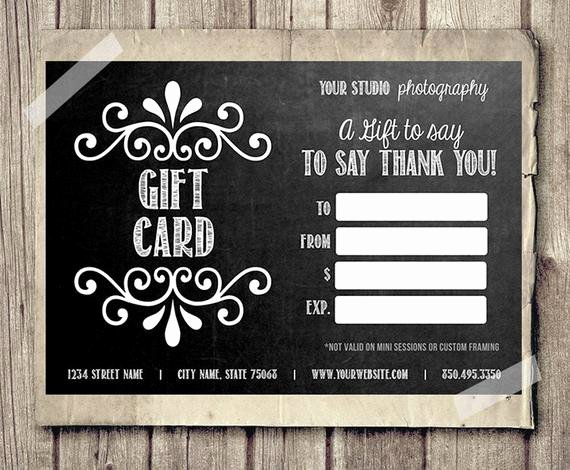 Barber Shop Gift Certificate Template New Gift Card Printable Digital Gift Certificate Shop