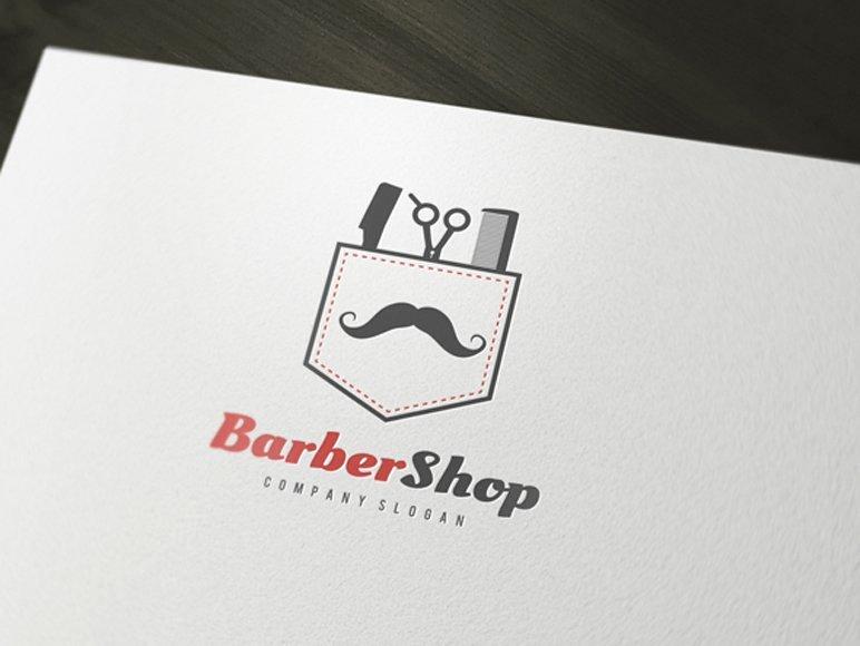 Barber Shop Gift Certificate Template Unique Barber Shop Logo Logo Templates Creative Market