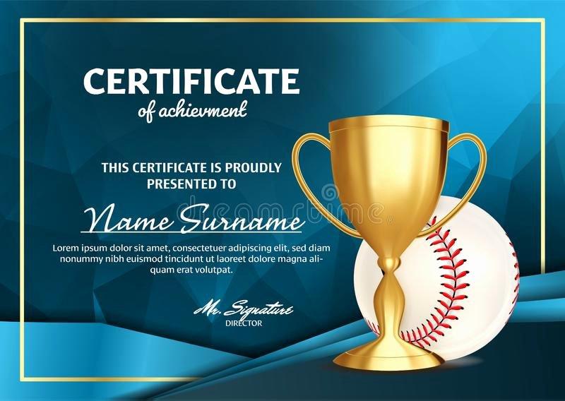 Baseball Award Certificate Template Unique Baseball Border Stock Illustrations – 383 Baseball Border