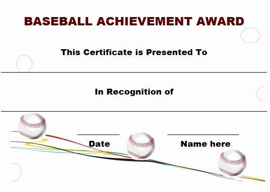 Baseball Certificates Templates Free Luxury 19 Best Baseball Certificate Templates Images On Pinterest