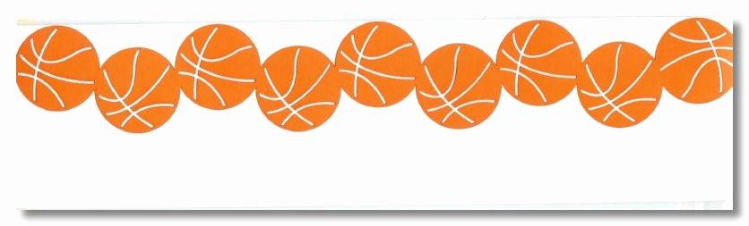 basketball border clip art