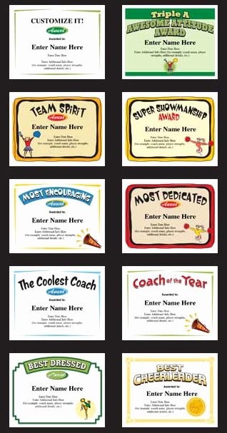 Basketball Camp Certificate Template New Cheerleading Certificates and Cheerleader Award Templates