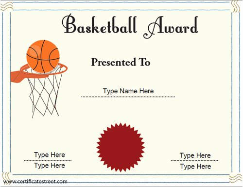 Basketball Certificate Template Free New software Game Download Yahoo Ssl Certificate