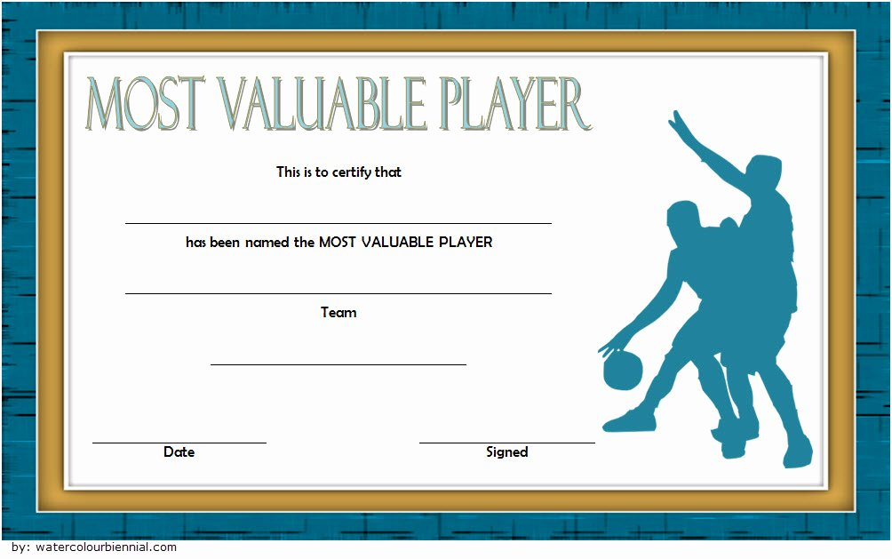 Basketball Certificate Templates for Word Unique Download 10 Basketball Mvp Certificate Editable Templates