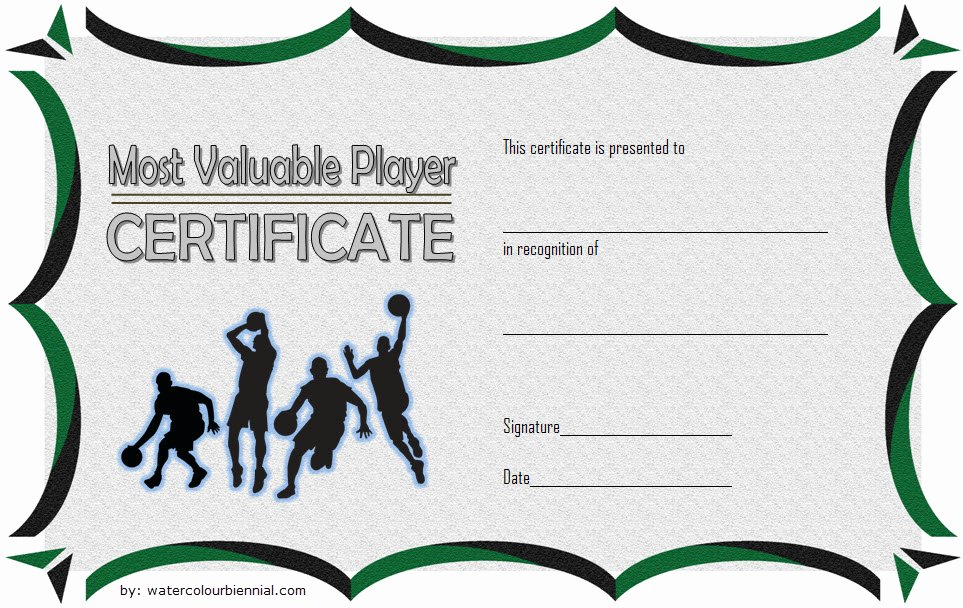 Basketball Certificates Free Download Awesome Download 10 Basketball Mvp Certificate Editable Templates