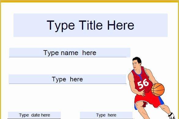 Basketball Certificates Free Download Fresh 2 Basketball Certificate Templates Free Download