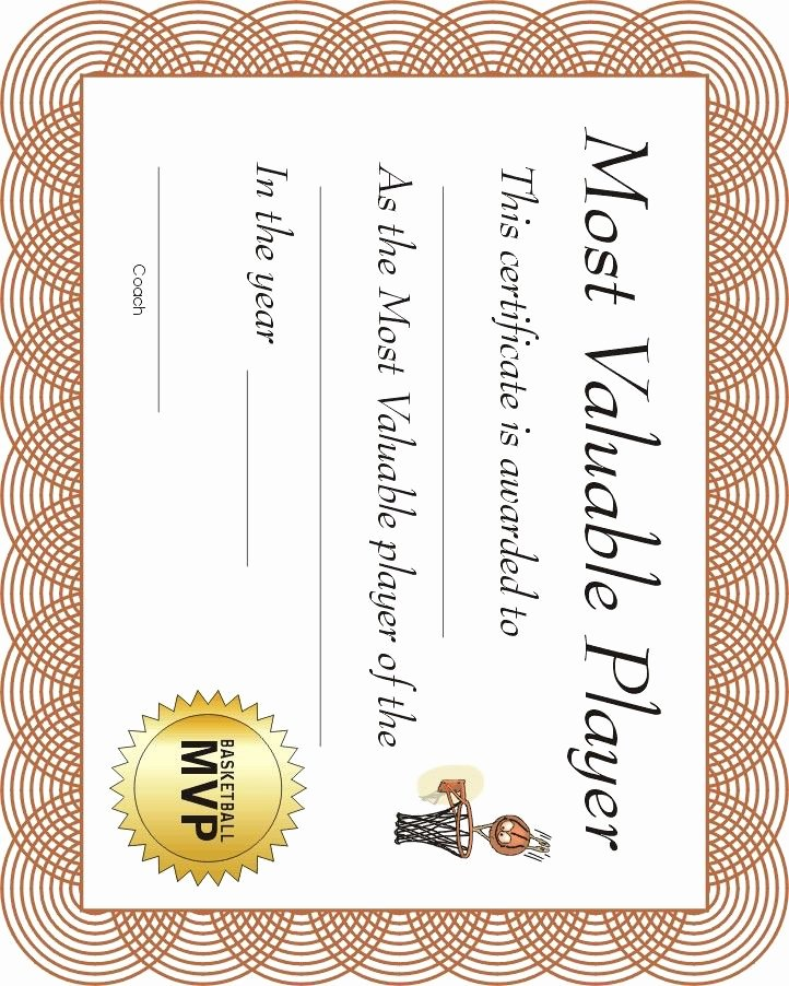 Basketball Certificates Free Download Unique 12 Best Images About Basketball Award Ideas On Pinterest