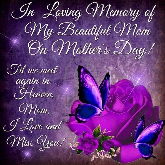 Beautiful Obituary for Mother Unique In Loving Memory My Beautiful Mom Mother S Day