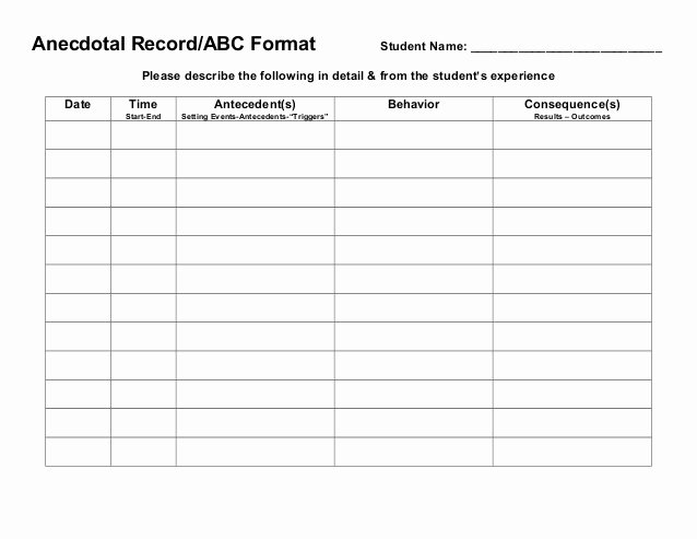 Behavior Tracker Template Awesome Behavior Tracking Sheet