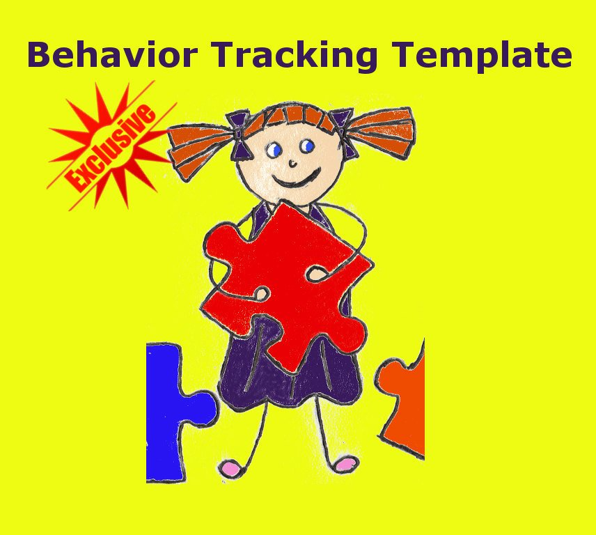 Behavior Tracker Template New Behavior Tracking Template for Adhd Spd Tantrums Meltdowns
