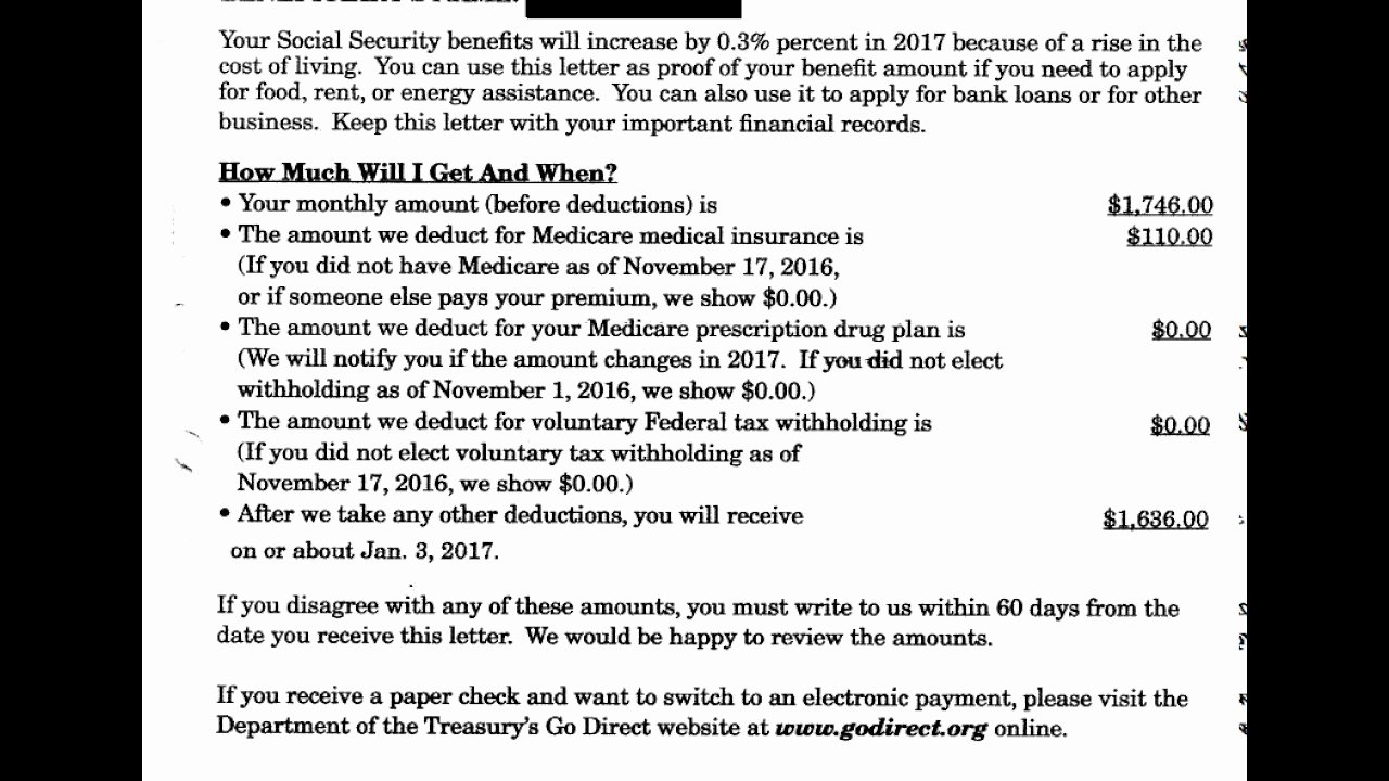 Benefit Verification Letter Unique Understanding Your social Security Benefit Verification