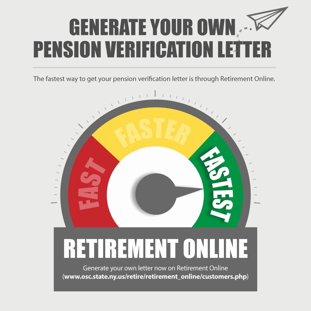 Benefits Verification Letter Luxury Pension Verification Letters New York Retirement News