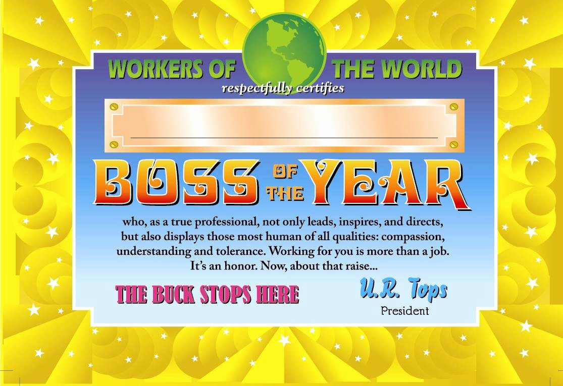 Best Boss Award Certificate Best Of How to Get Your Employer to Pay for Your Treadmill Desk