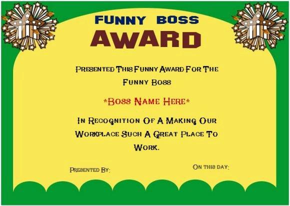 Best Boss Award Certificate Luxury New Best Boss Award &ac59 – Advancedmassagebysara